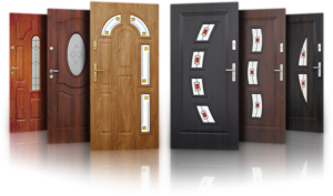 Монтаж входных дверей