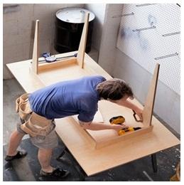 Сборка столов по низким ценам в Орехово-Зуево от специалистов